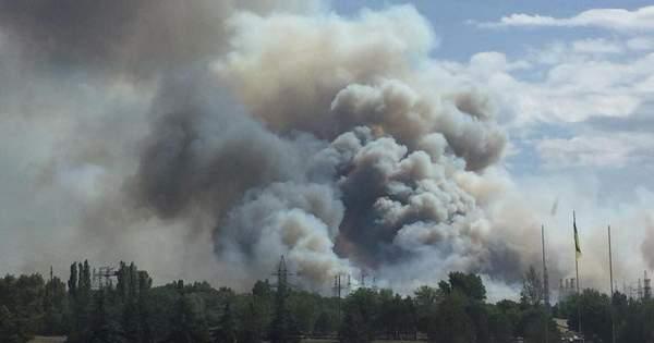 Пожежа у Чорнобилі  горить найбільш радіаційна зона - фото 09c9de8a36af1