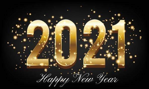 Привітання з Новим роком 2021