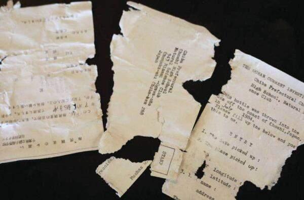 Письма, которые выпали из пляшки / Фото Kelsey Walling