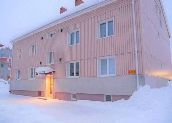 Дом, в котором продают квартиру за 1 крону