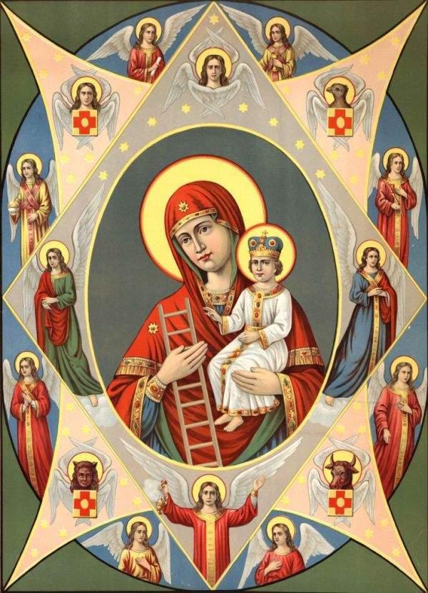Ікона Неопалима Купина історія традиції
