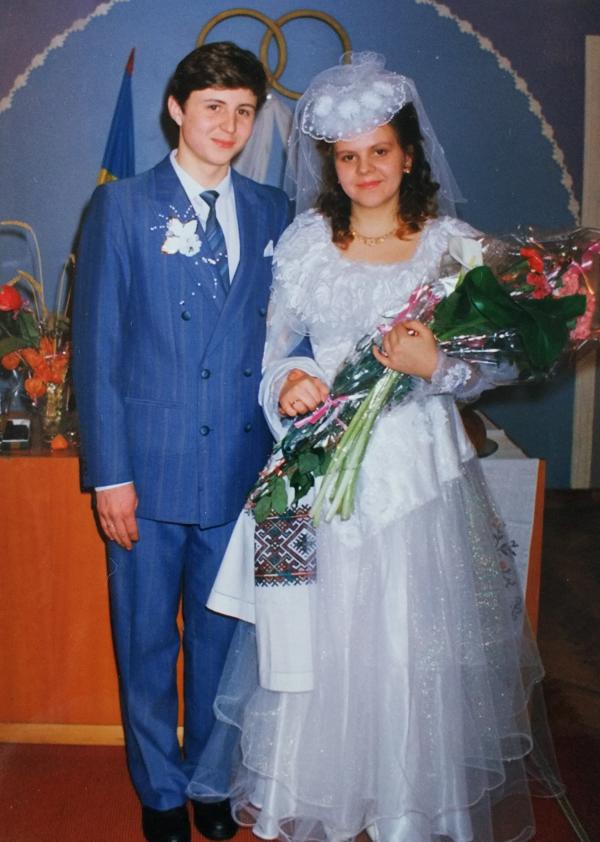 Свадьба в городе Лозовая, 1995 год