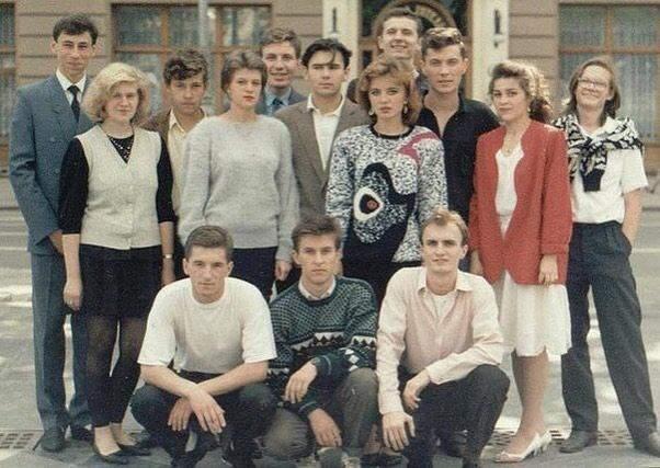 Святослав Вакарчук з одногрупниками