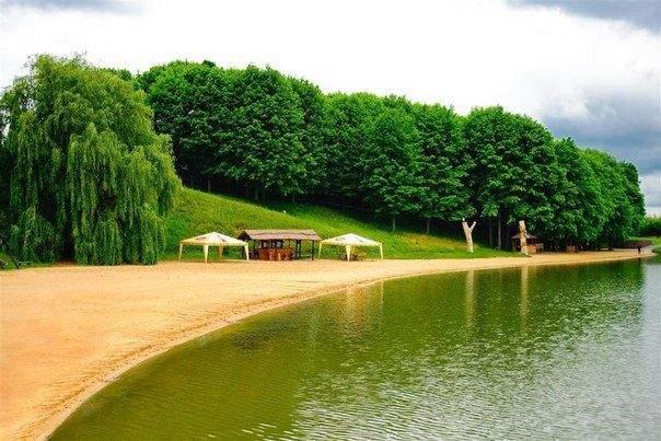 Озеро Обарів на Рівненщині