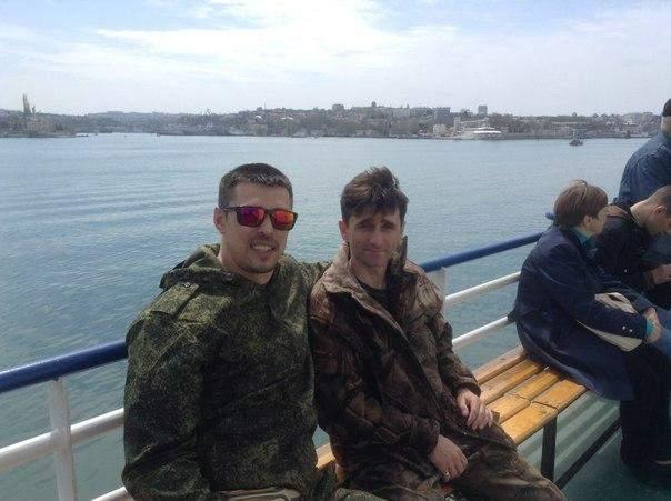 Франчетті і Берич в анексованому Криму