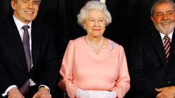 Гордон Браун та королева Єлизавета II