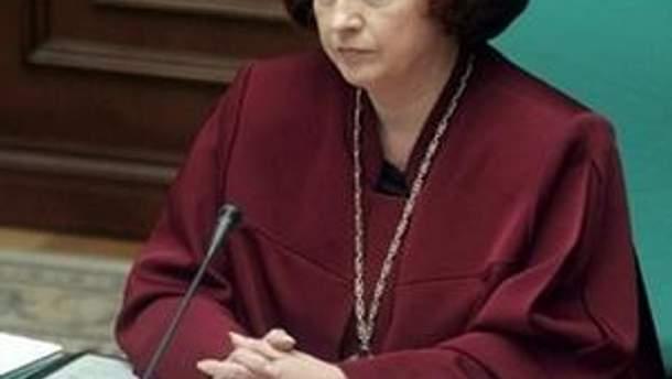 Сюзанна Станік повернеться до своїх обов'язків на посаді судді КС