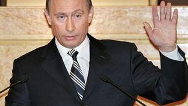 Російський прем'єр-мністр Володимир Путін