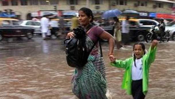 Зливи у Індії