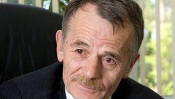 Лідер Меджилісу Мустафа Джемілєв