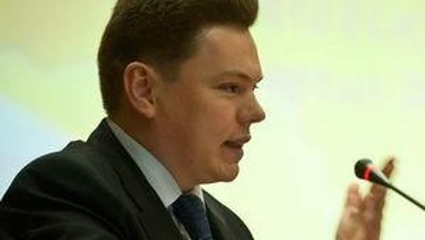Міністр транспорту та зв'язку України Костянтин Єфименко