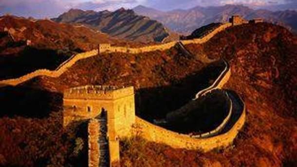 Скоро стане простіше побачити велику китайську стіну
