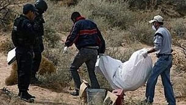 Рекордна кількість трупів журтв наркомафії виявлена на півночі Мексики