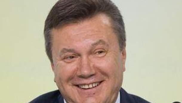 Віктор Янукович знову осоромився