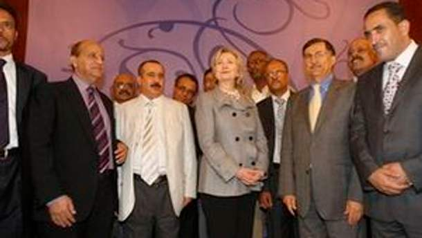Хілларі Клінтон у Ємені перший представник США з 1989 року