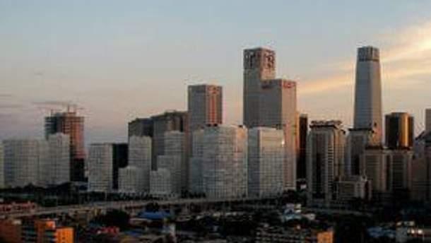 Центральная часть Пекина