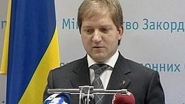 Директор департаменту інформаційної політики МЗС Олег Волошин