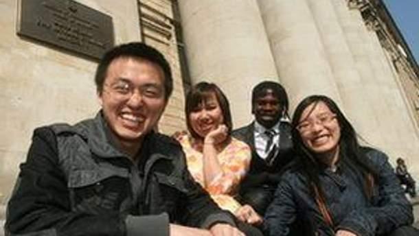 Китайські студенти в Україні