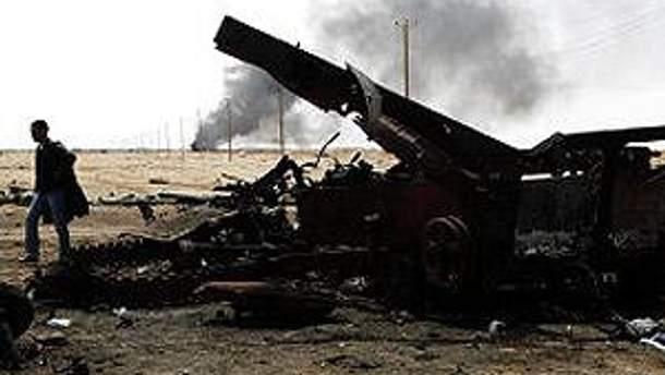 Авіація НАТО у вівторок здійснила 62 бойових вильоти