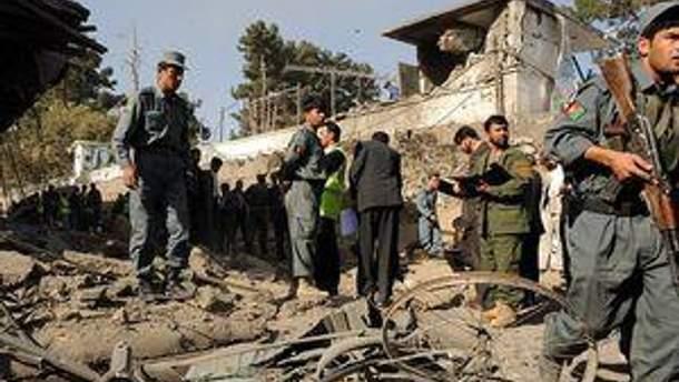 В Афганистане теракт унес более 60 жизней