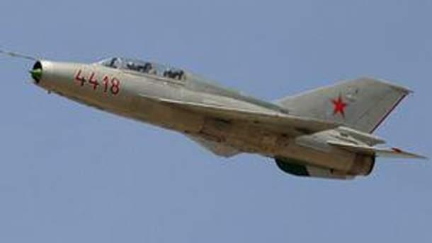 Истребитель МиГ-21 разбился