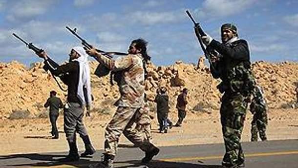 Лівійських повстанців змусили відступити