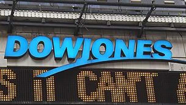 Dow Jones начал расти
