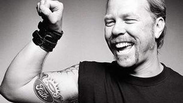 Солист Metallica Джеймс Хэтфилд