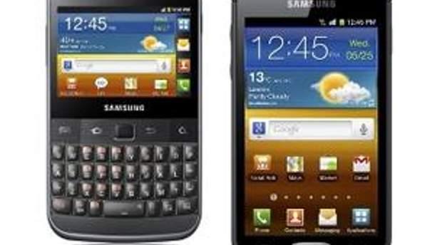 Galaxy M Pro та Galaxy W