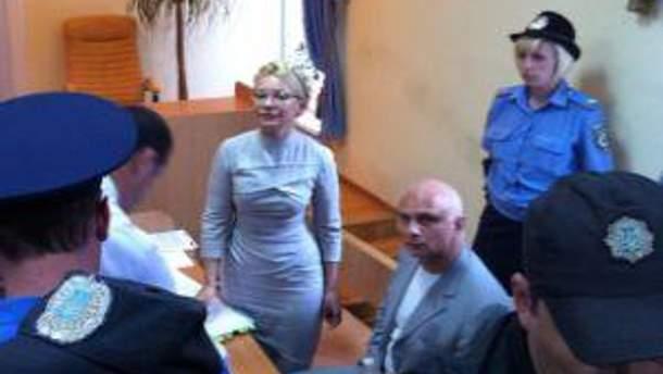 Стривожені проецесом над Тимошенко