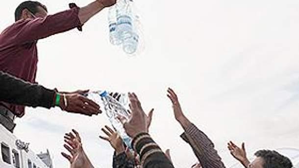 В Триполи будут и вода, и еда