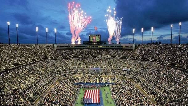 Открытие турнира US Open