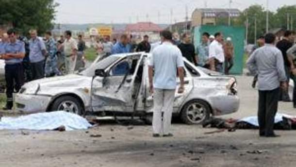В Грозном погибли восемь человек