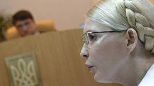 Юлія Тимошенко у суді