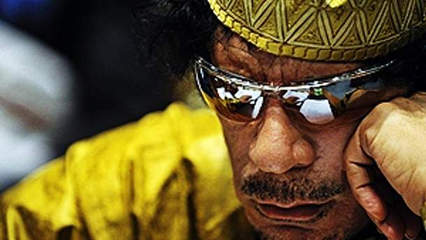 Каддафи до сих пор скрывается