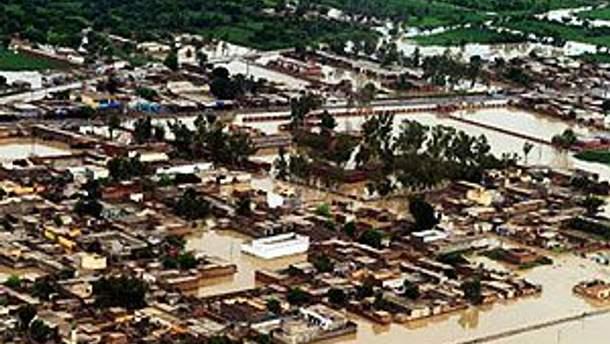 Наводнение в Пакистане разрушило 1,9 миллиона домов