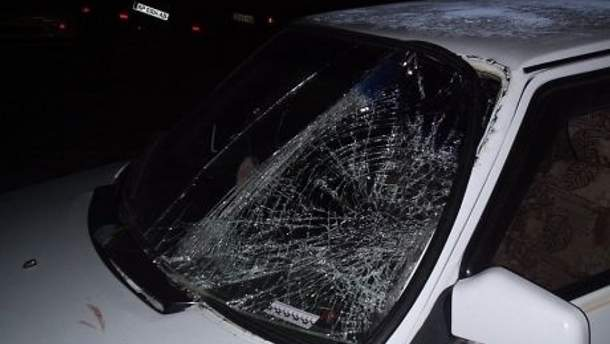 Водитель скрылся с места происшествия
