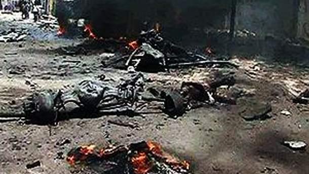 Фото с места события - теракт в Могадишо 4 октября