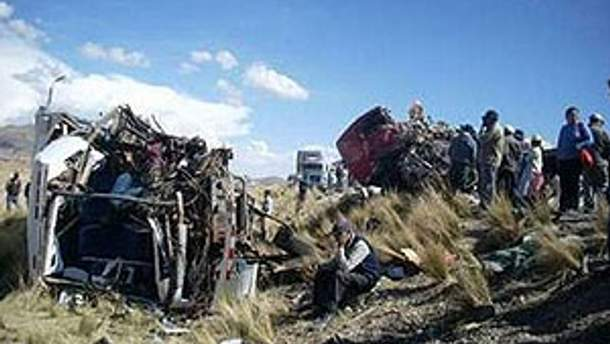 Жертвами аварії стали 10 людей