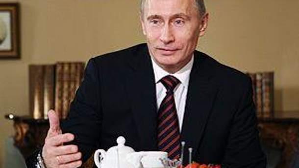 Именинник Владимир Путин
