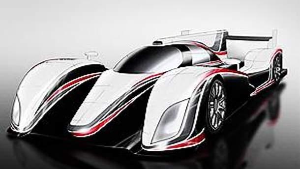 Прототип автомобиля для гонок на выносливость