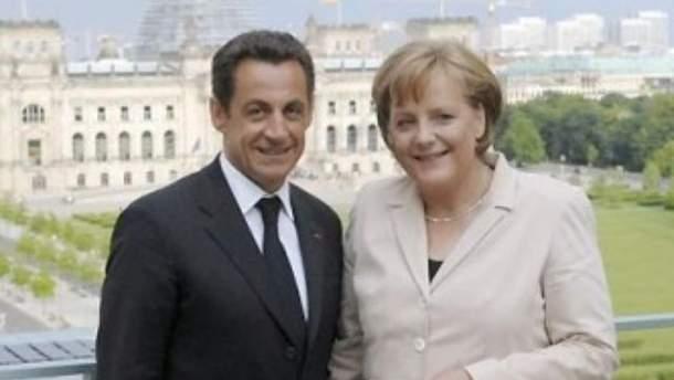 Guardian: Меркель домовилась з Саркозі