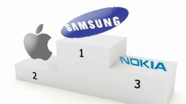 Неофициально Samsung всех обогнал