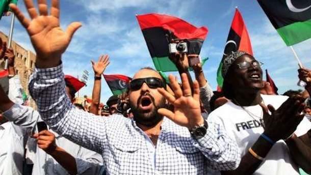Ливийцы уже празднуют победу над Каддафи
