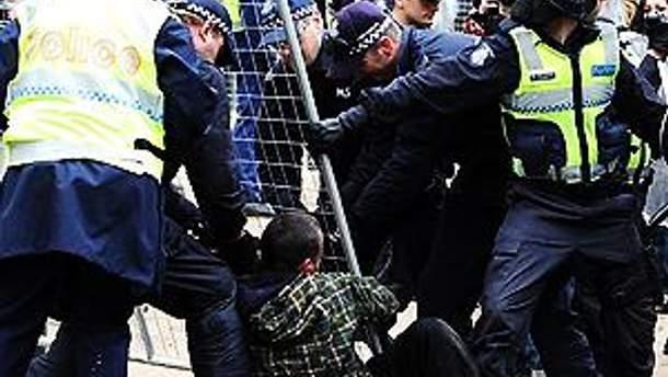 Поліція розігнала учасників акції