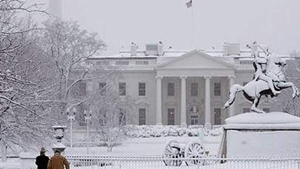 В 2010 снегопад парализовал американскую столицу