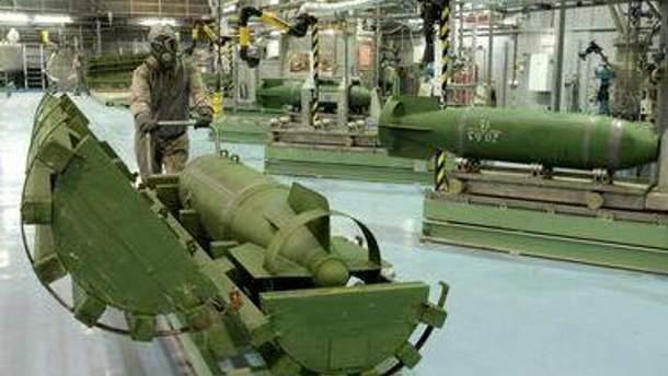 Состав химического оружия в Ливии