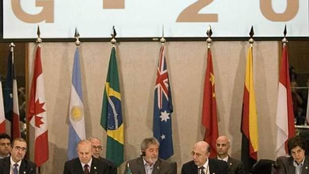 G20 соберется 3-4 ноября