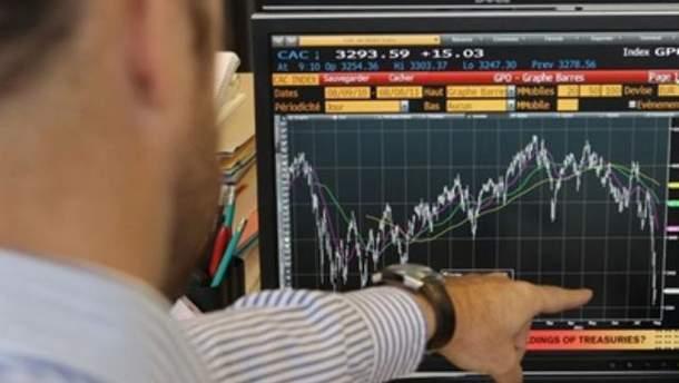 Украинские биржи закрыли торги