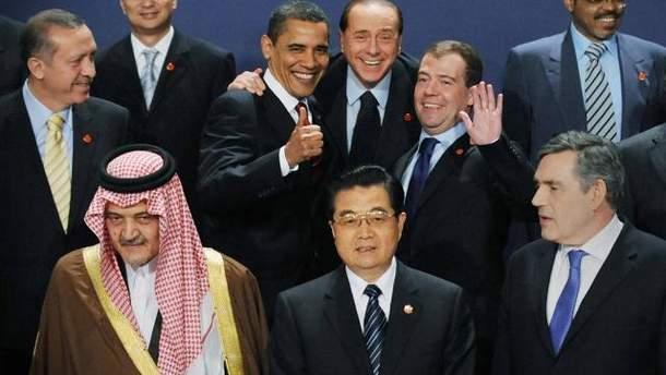 G20 вирішує глобальні проблеми